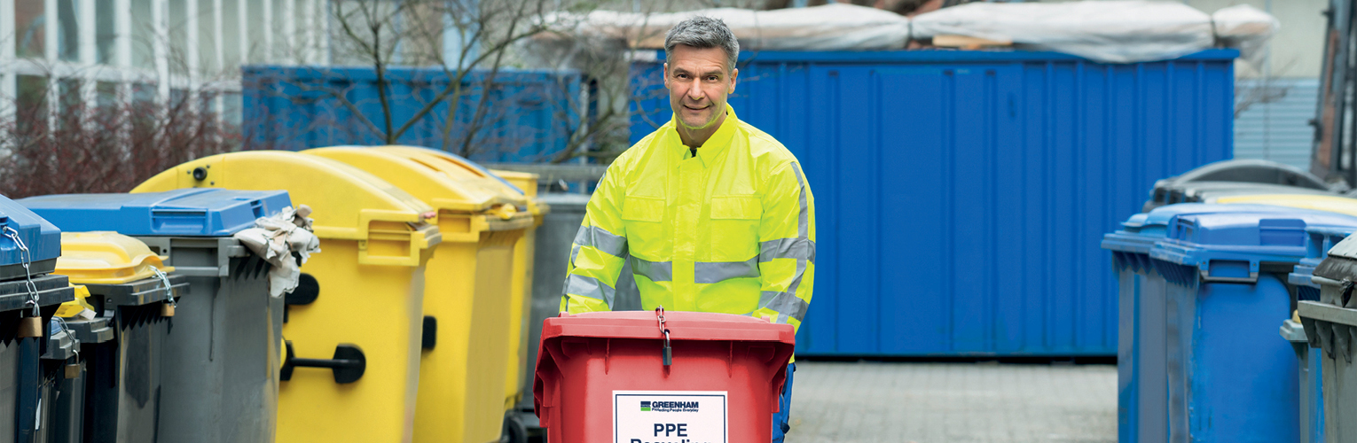 Secure PPE Disposal